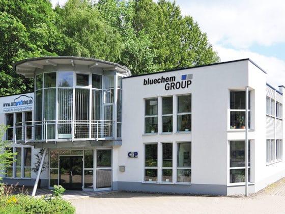 bluechemGROUP Verwaltungsgebäude in Leutenberg