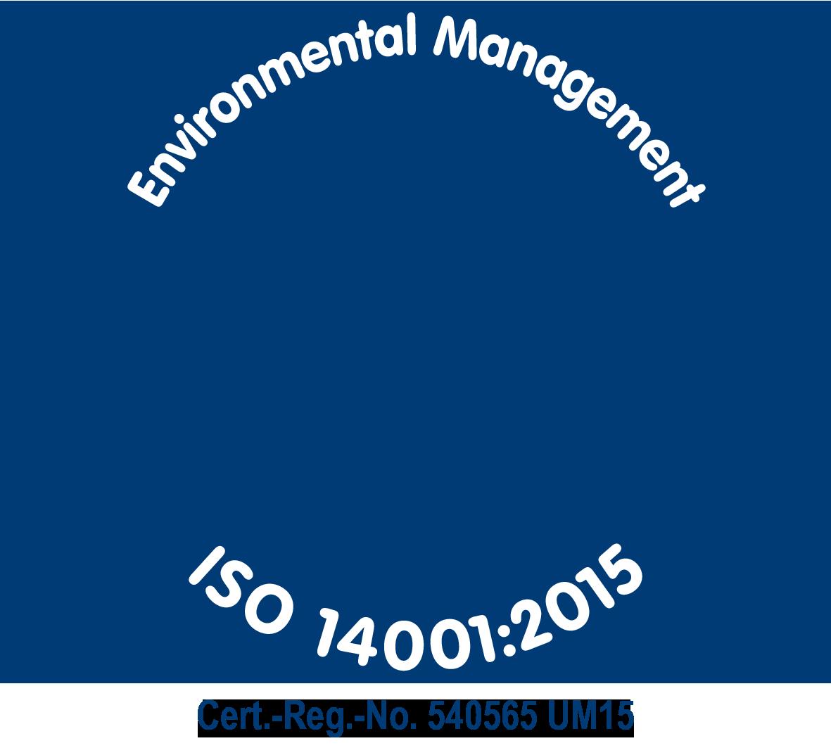 Zertifizierung DIN ISO14001:2015 - bluechemGROUP