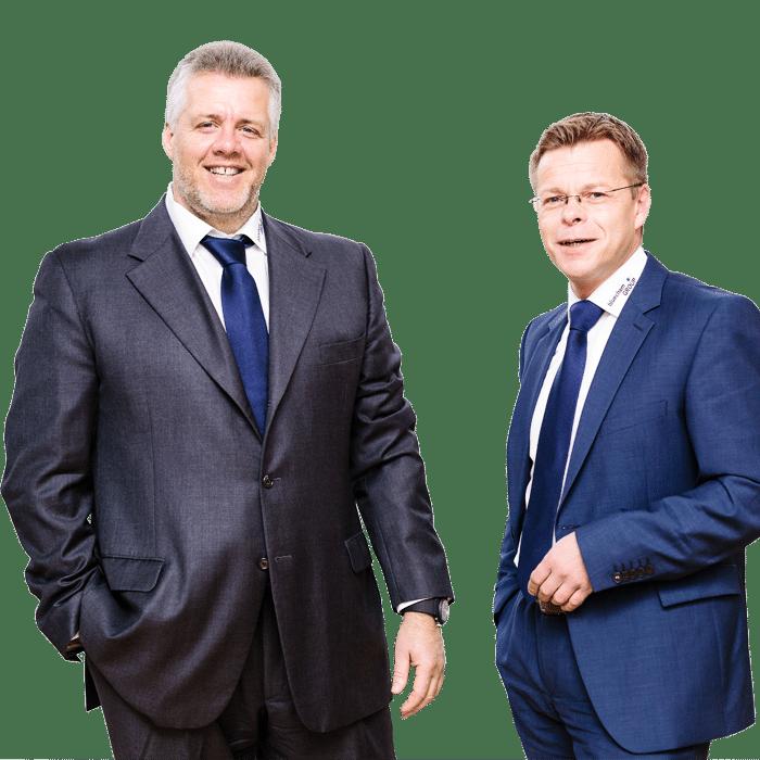 Werner Orban und Gabor Quoika - bluechemGROUP