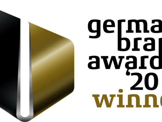Logo German Brand Award Winner 2020 - bluechemGroup