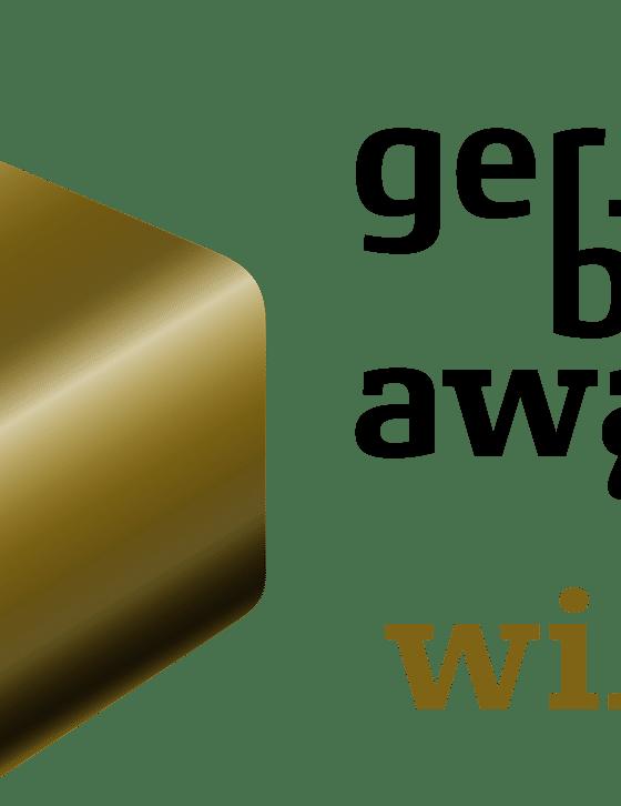 Logo German Brand Award Winner 2020 - bluechemGroup