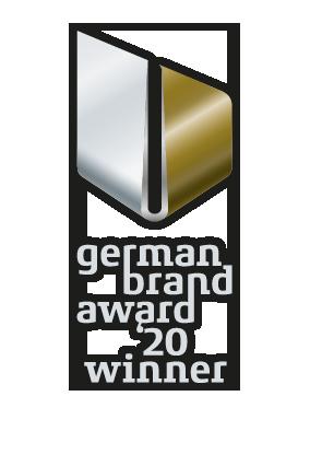 Auszeichnung German Brand Award 2020 Winner, bluechemGROUP
